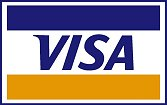 pay your taxi with visa creditcard